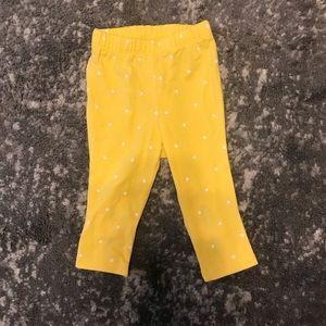 Baby Yellow Polkadot Pants